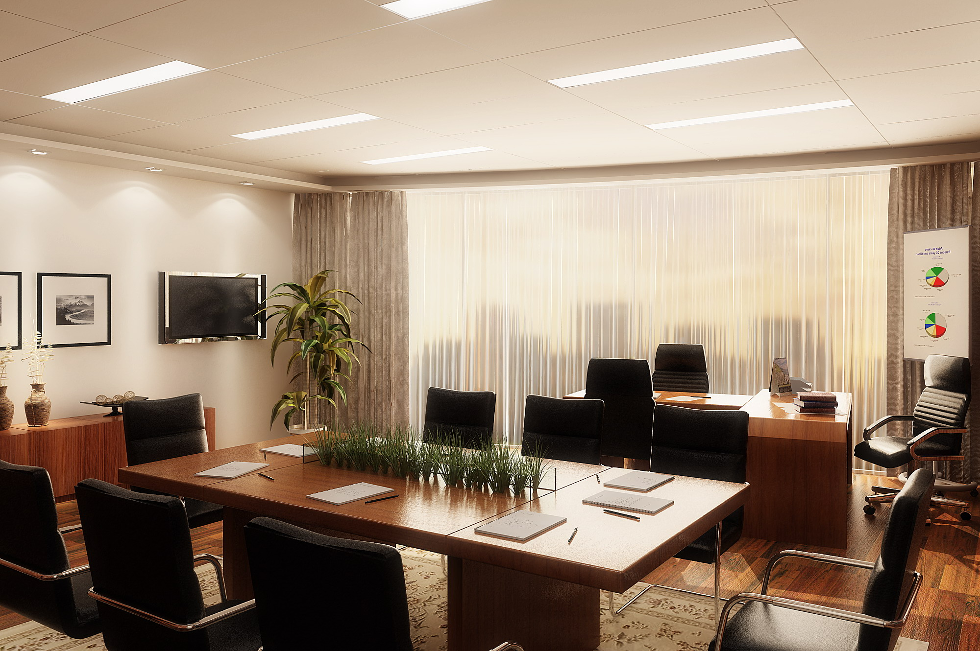 Office Models Photos