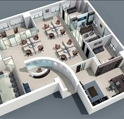 share this 3d model - Office Models Photos