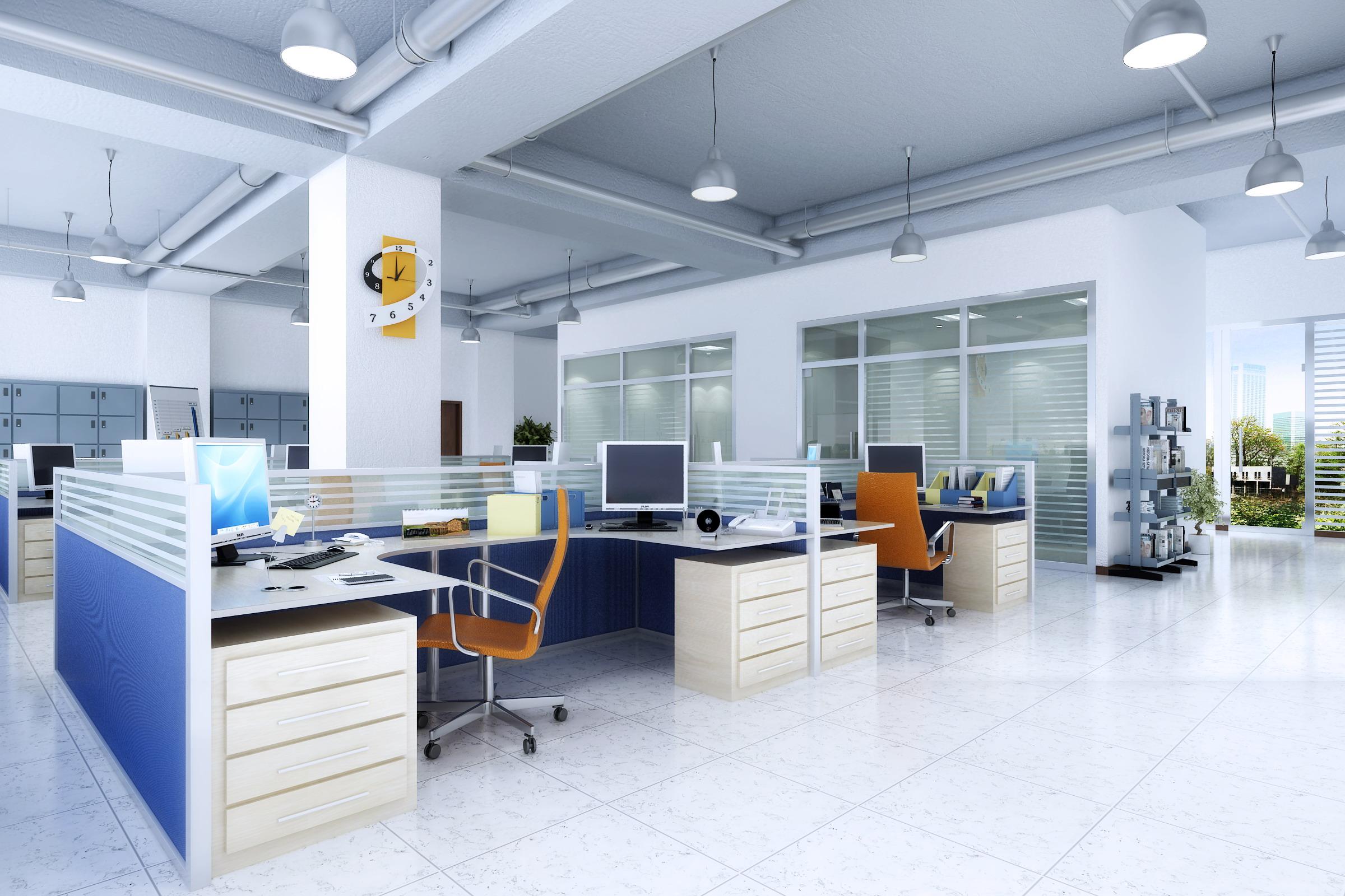 Office 133 3d Model Max 122091