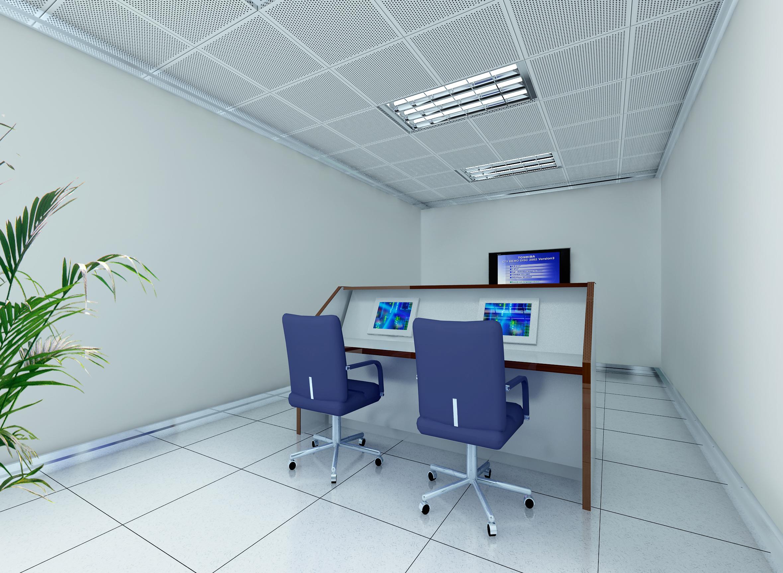 operating room & control room 001 3d model max 137480