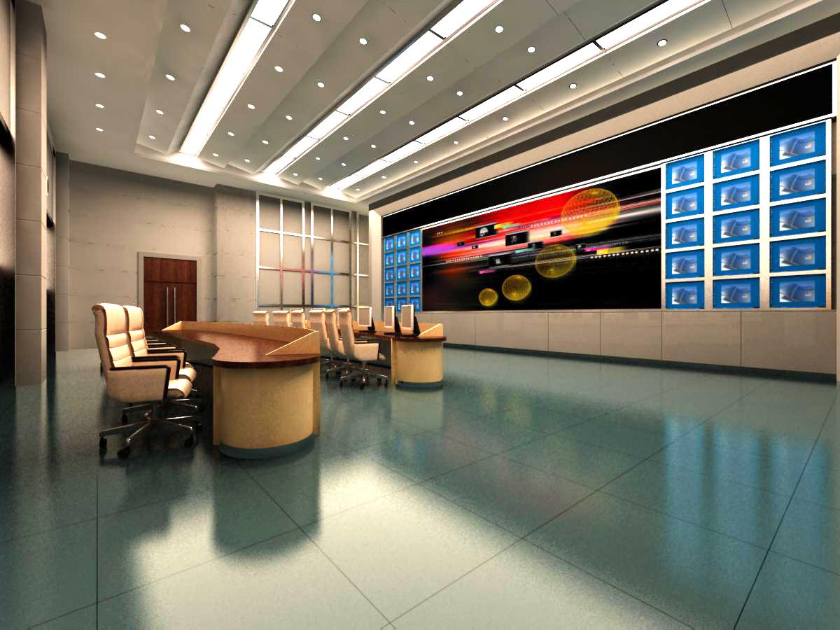 operating room & control room 003 3d model max 137484