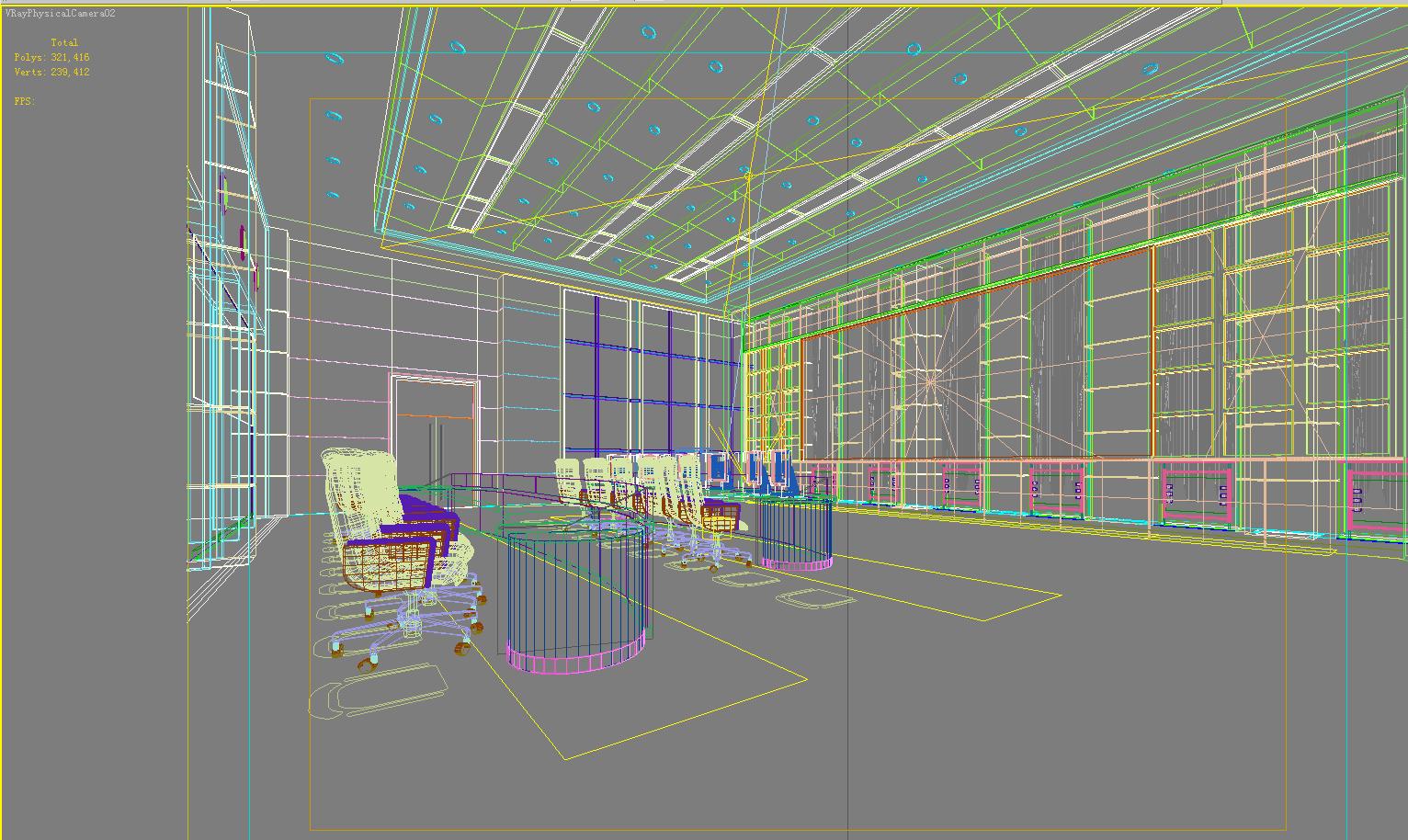operating room & control room 003 3d model max 137485