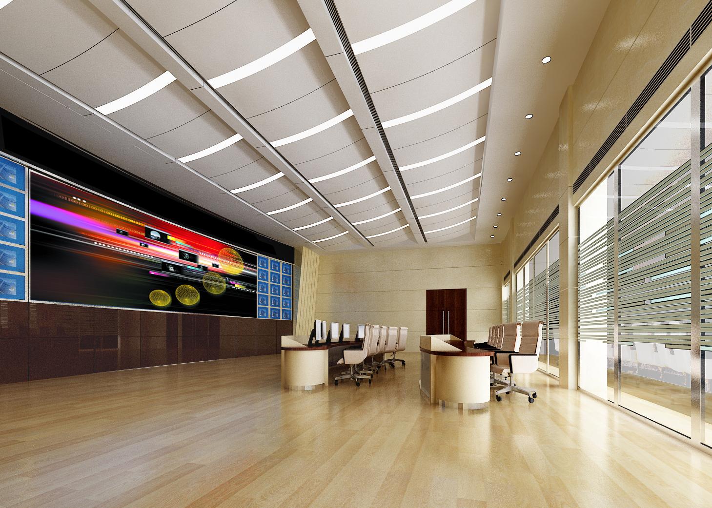 operating room & control room 004 3d model max 137486