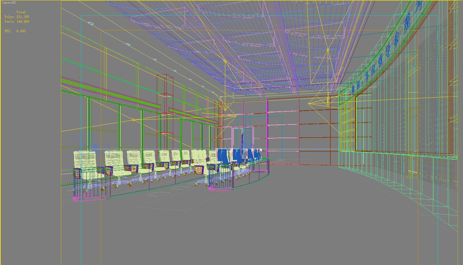 operating room & control room 005 3d model max 137489