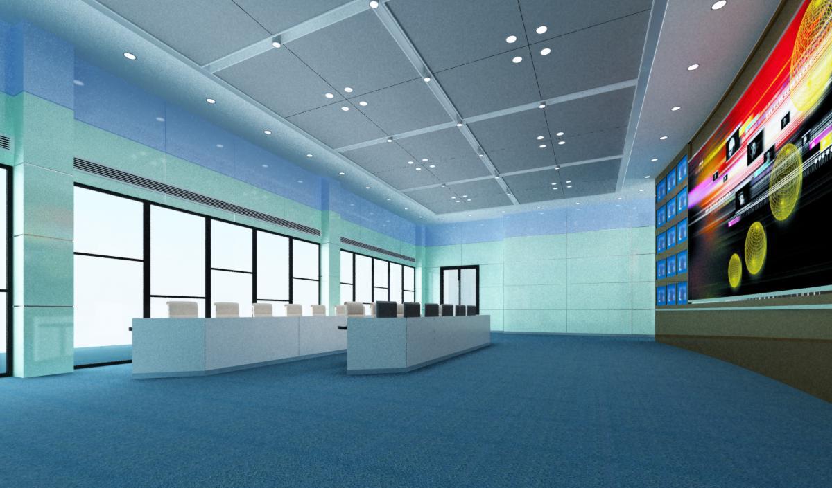 operating room & control room 006 3d model max 137490