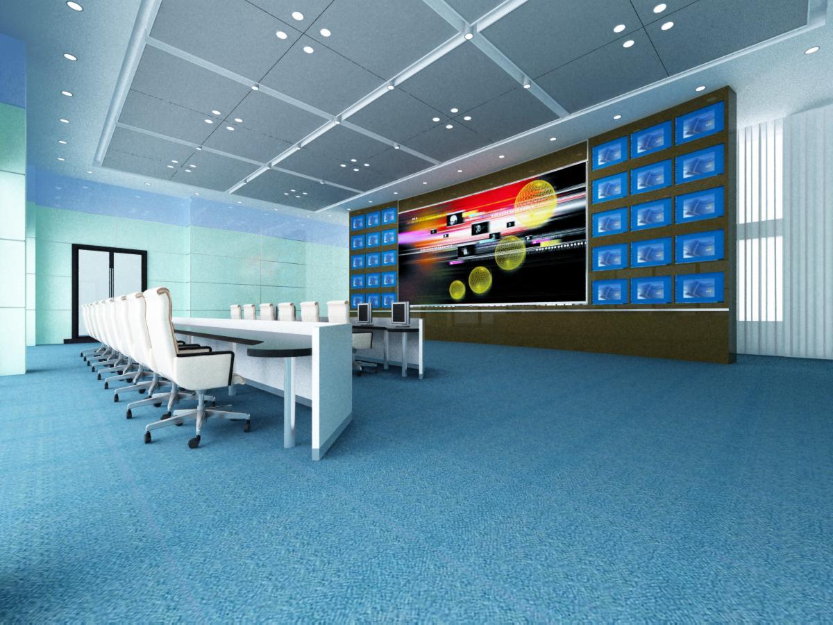 operating room & control room 007 3d model max 137492
