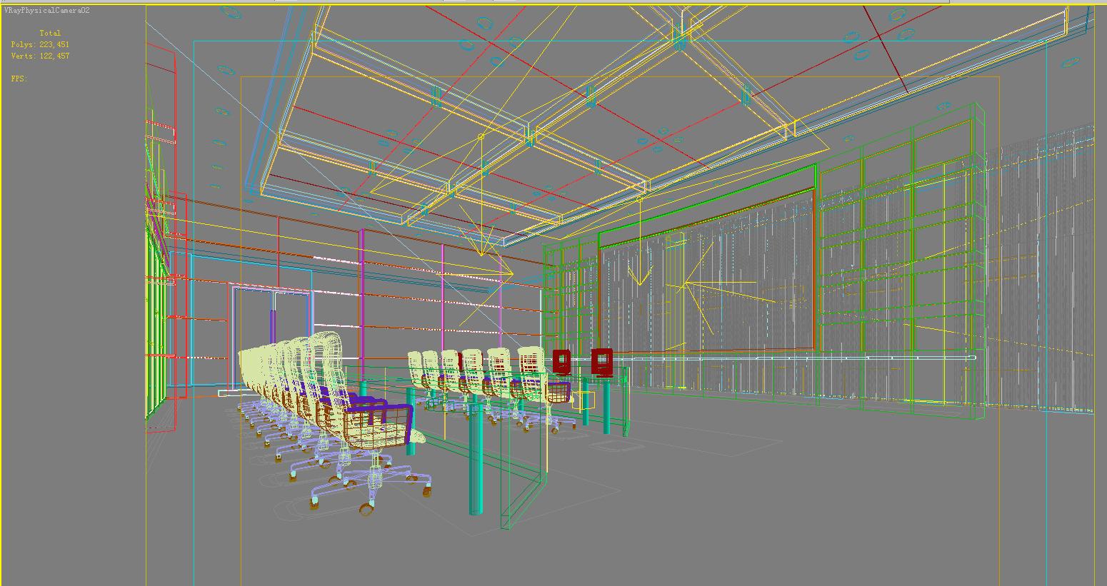 operating room & control room 007 3d model max 137493