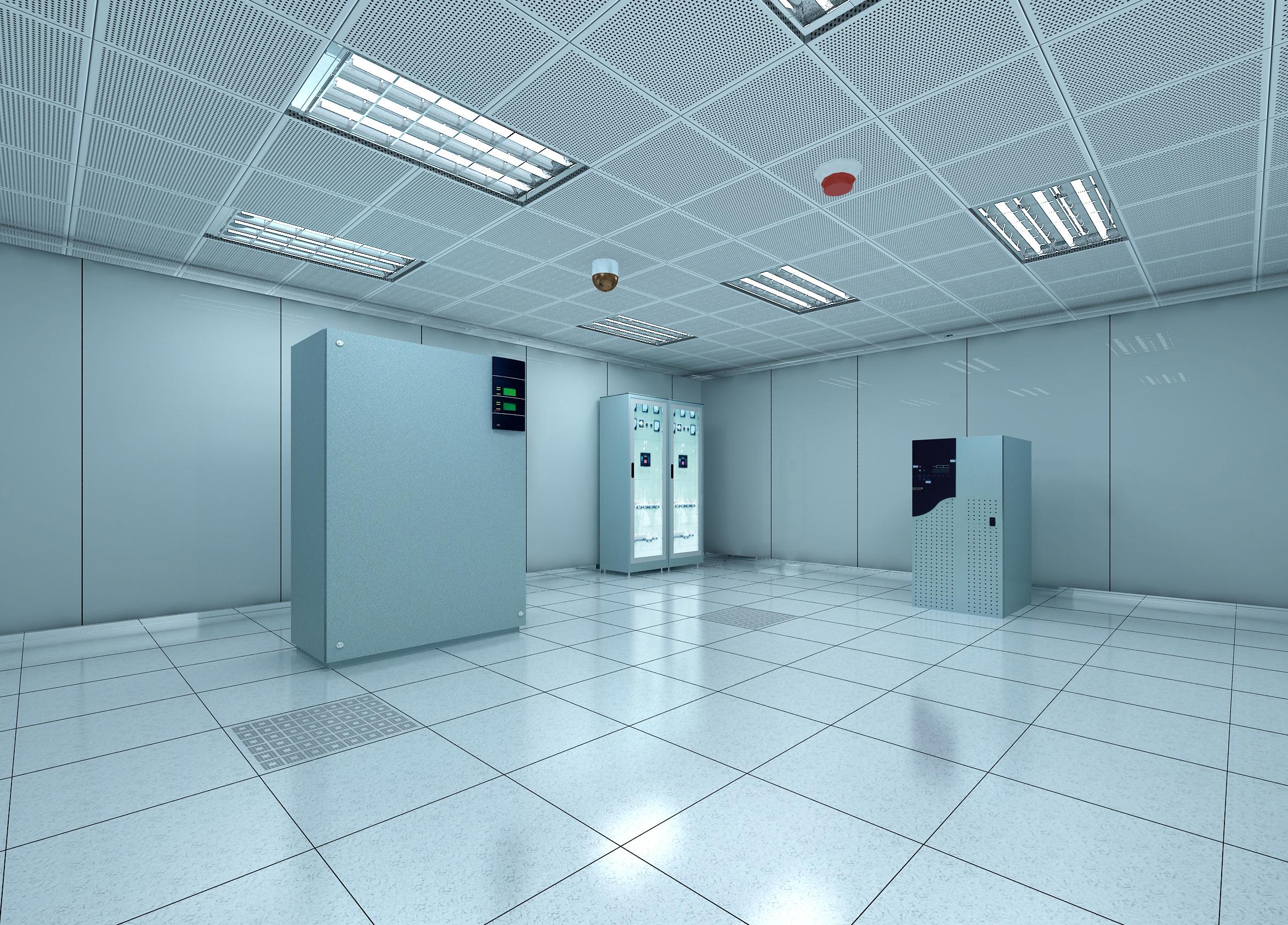 ажлын өрөө & хяналтын өрөө 008 3d загвар max 137494