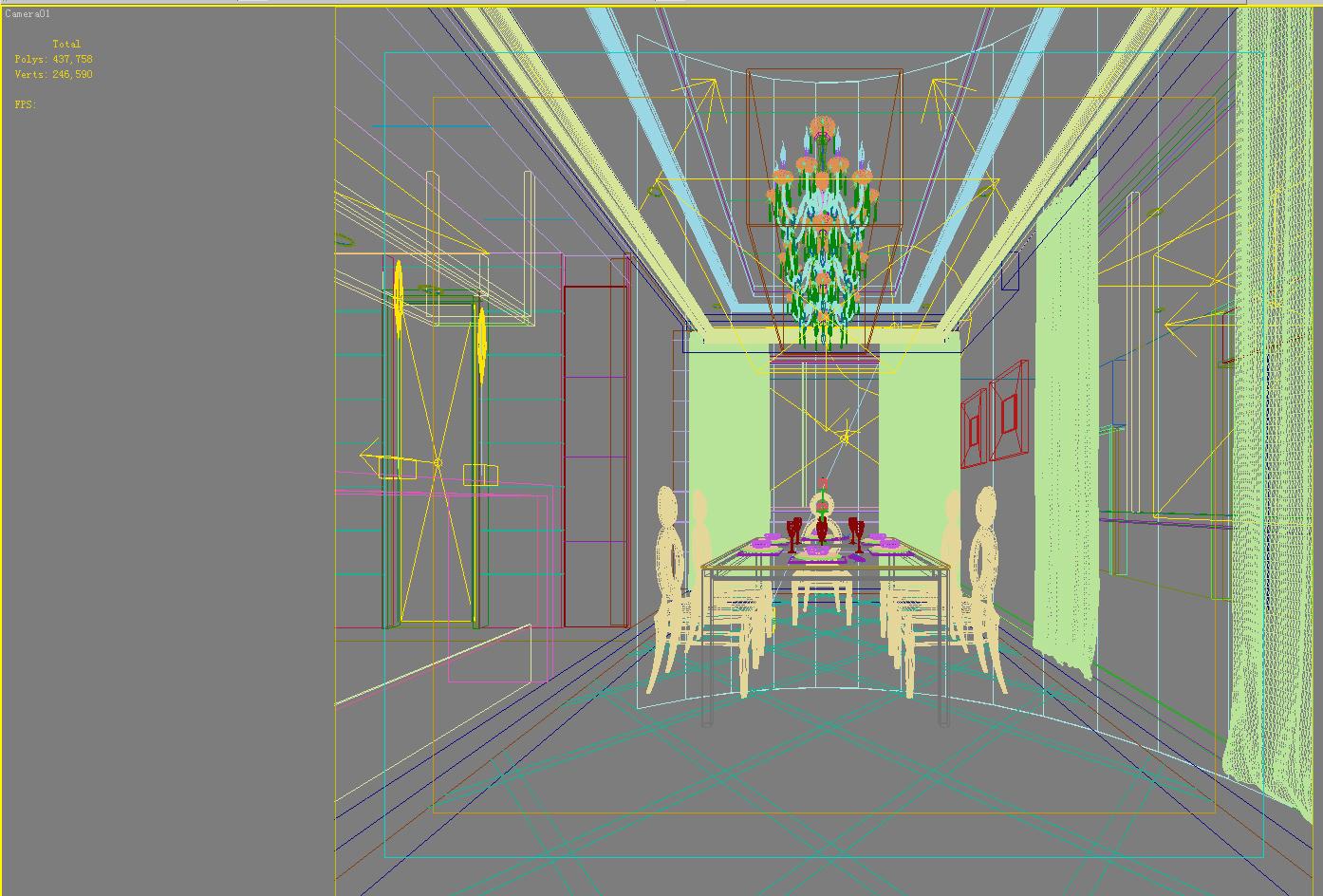 privatna soba 0112 3d model max 144916