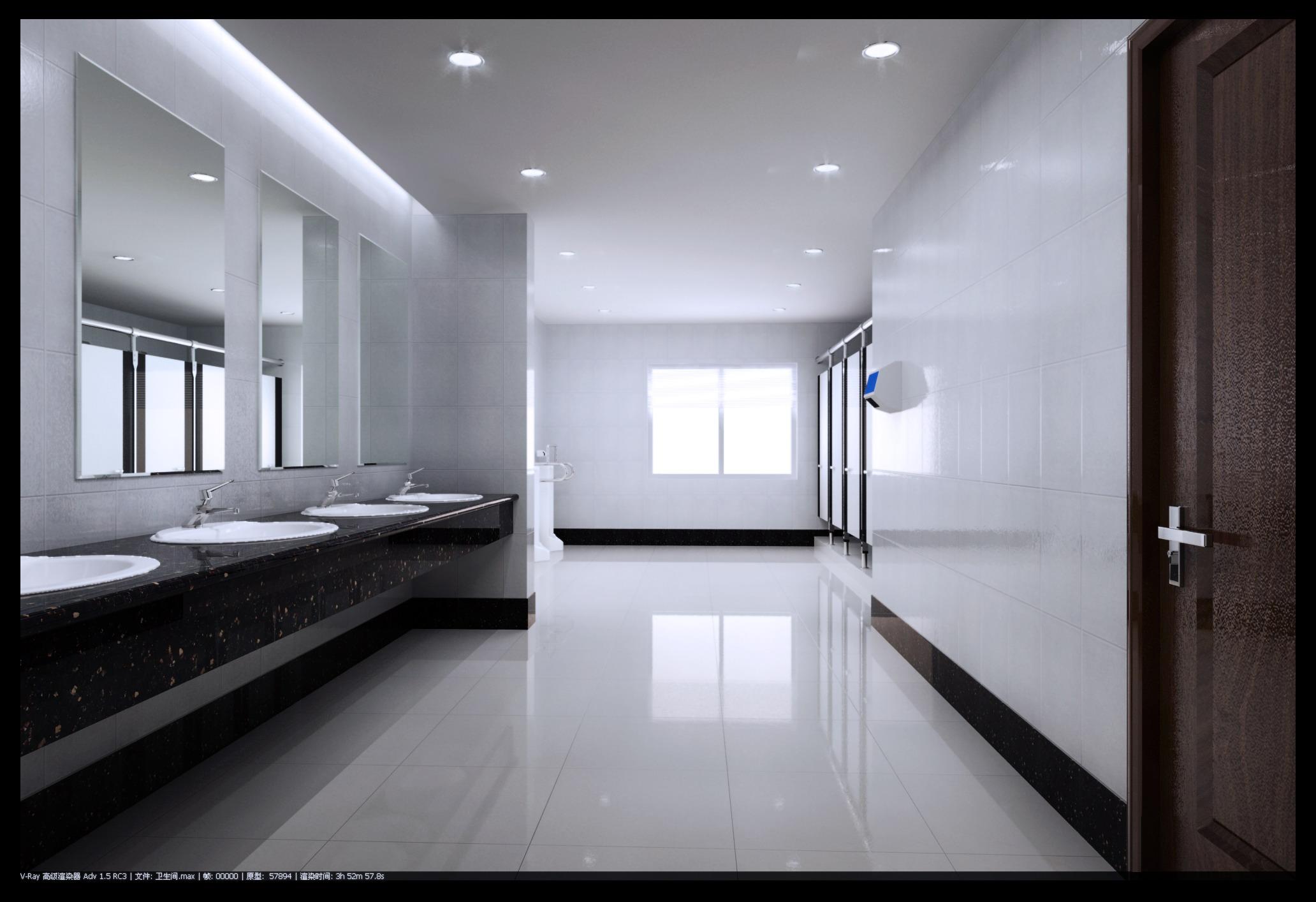 ictimai tualet 003 iki 3d model max 145016