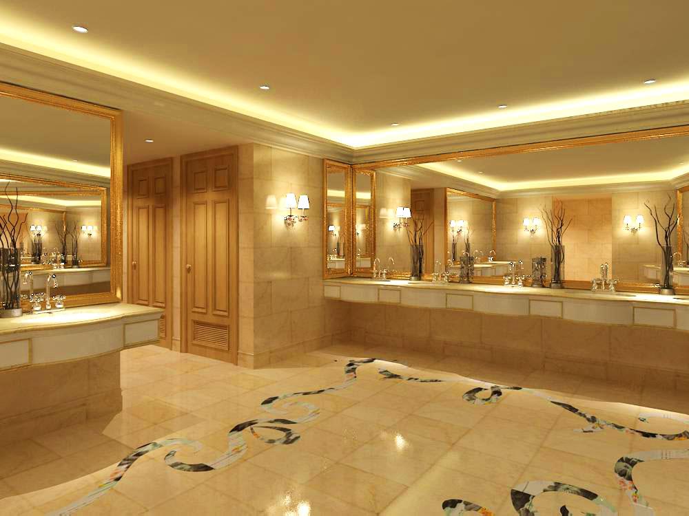 public toilet 005 3d model max 138114