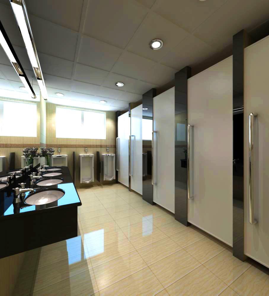 ictimai tualet 007 3d model max 138118