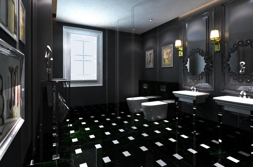 public toilet 008 3d model max 138120