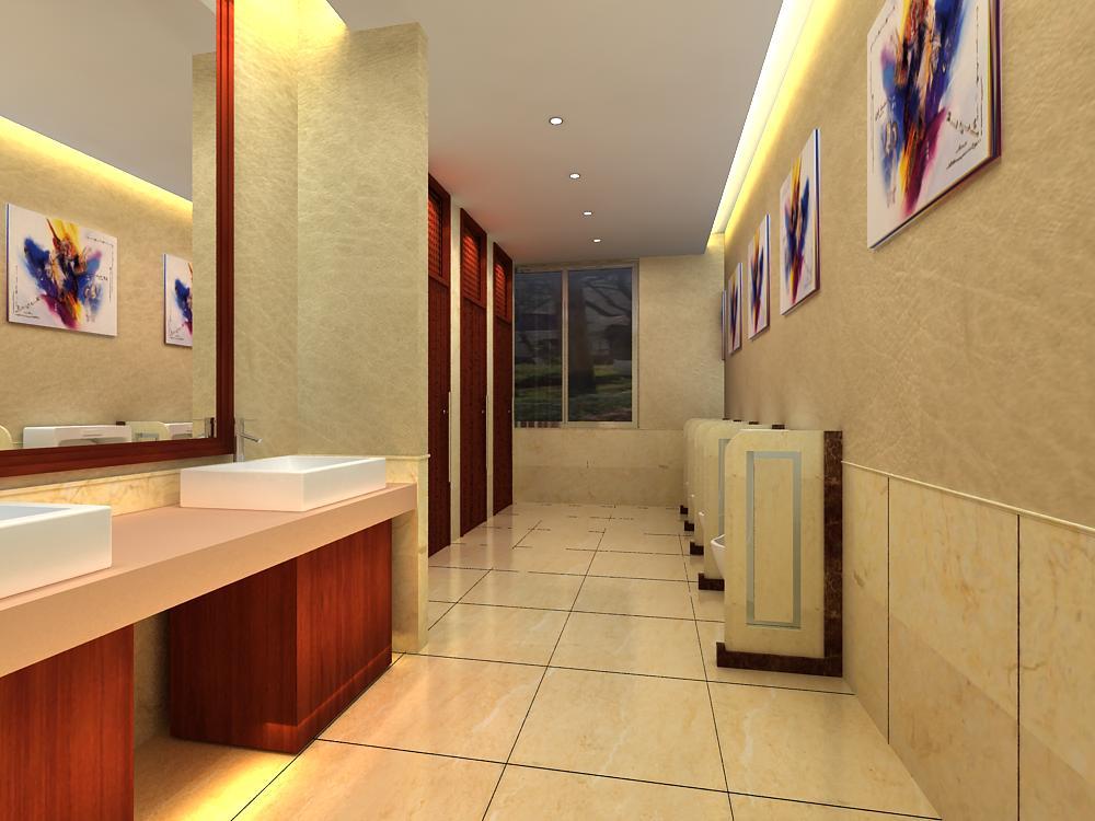 public toilet 008 two 3d model max 145028