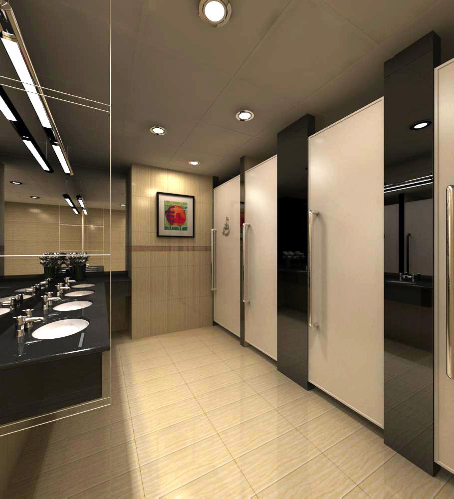 public toilet 009 3d model max 138122