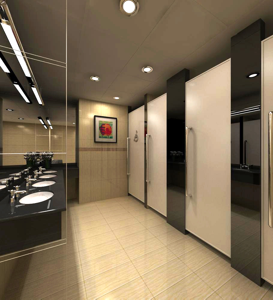 ictimai tualet 009 3d model max 138122