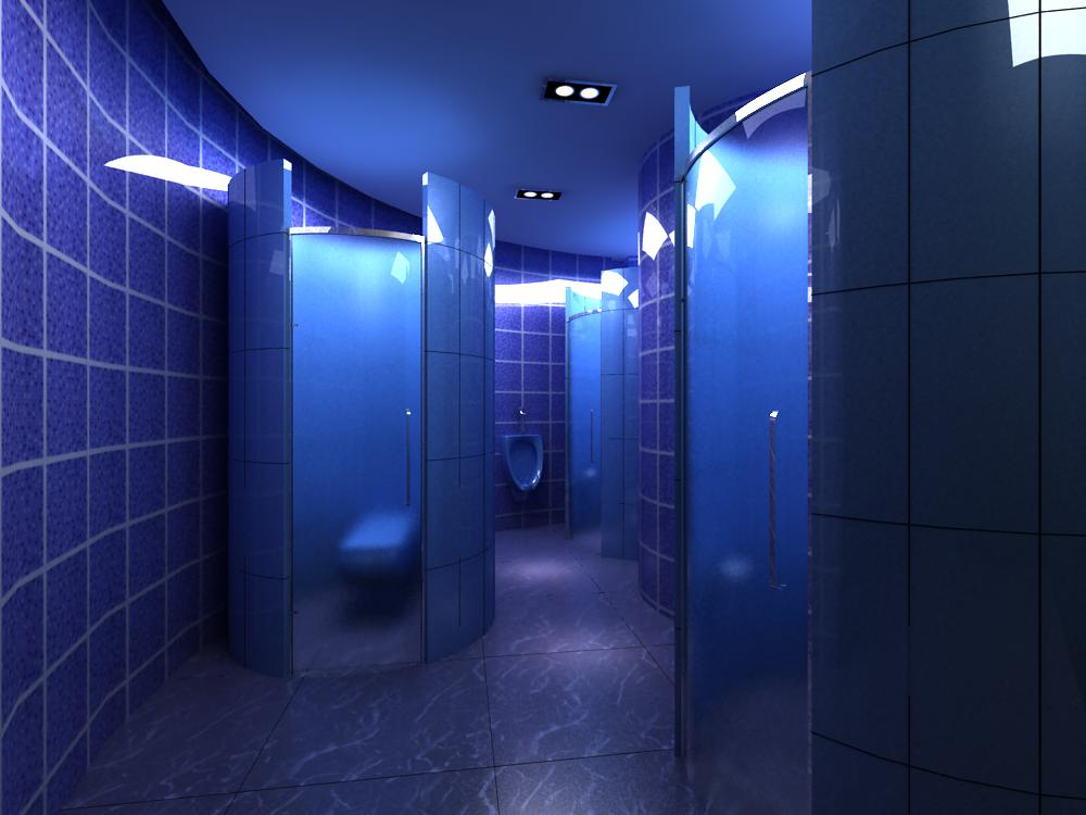 public toilet 011 two 3d model max 145034