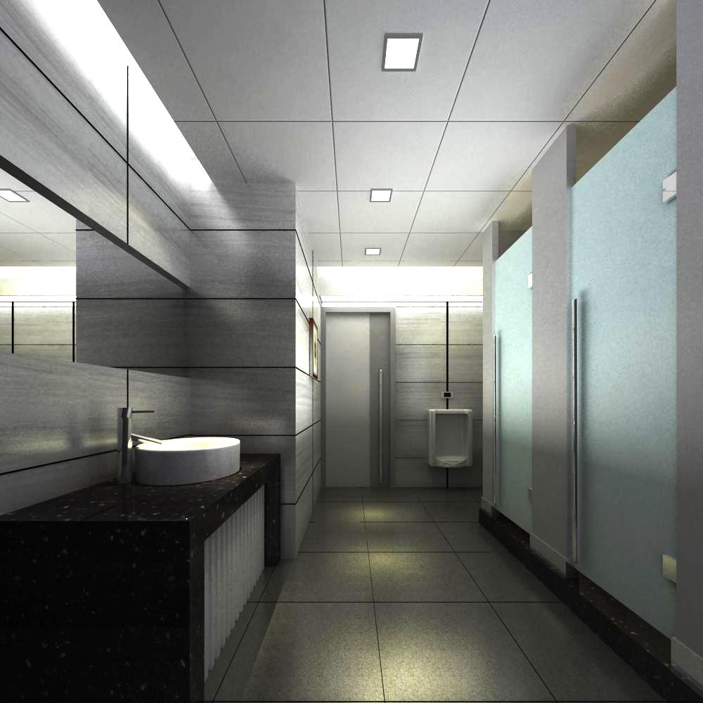 public toilet 012 two 3d model max 145036