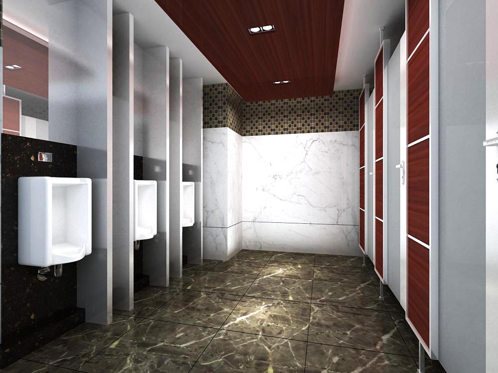public toilet 013 two 3d model max 145038