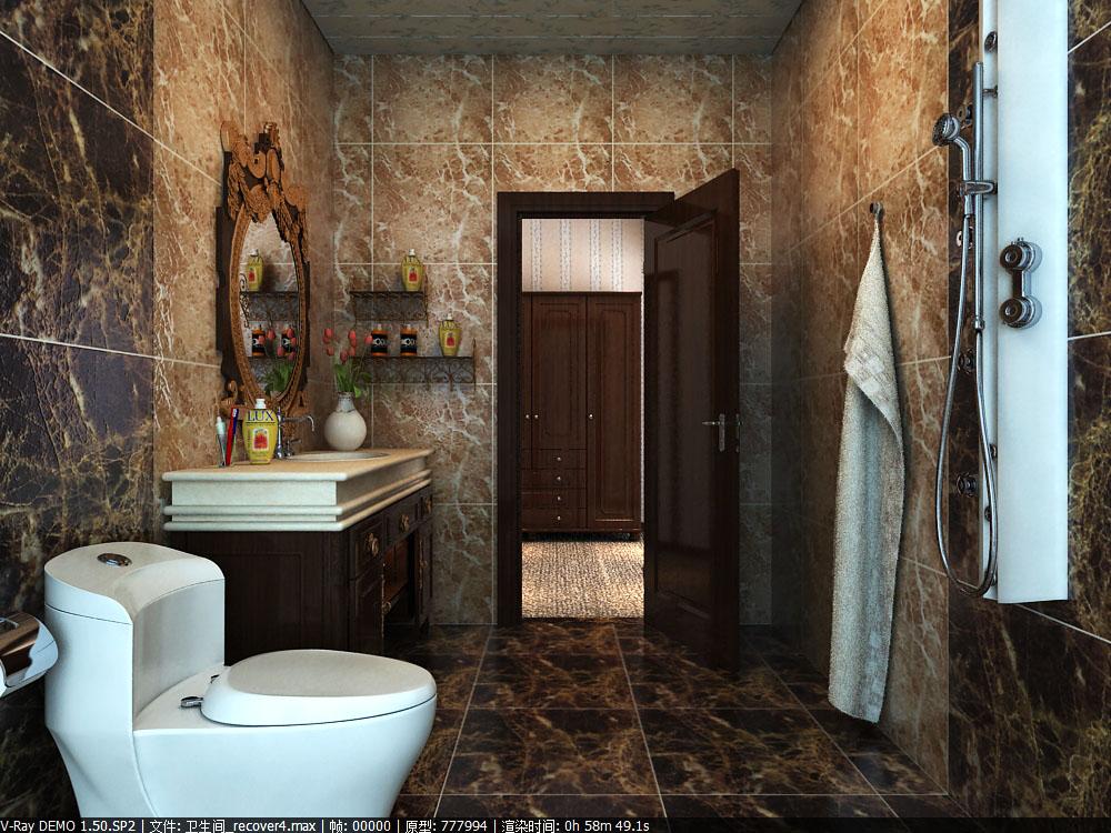 public toilet 020 two 3d model max 145052