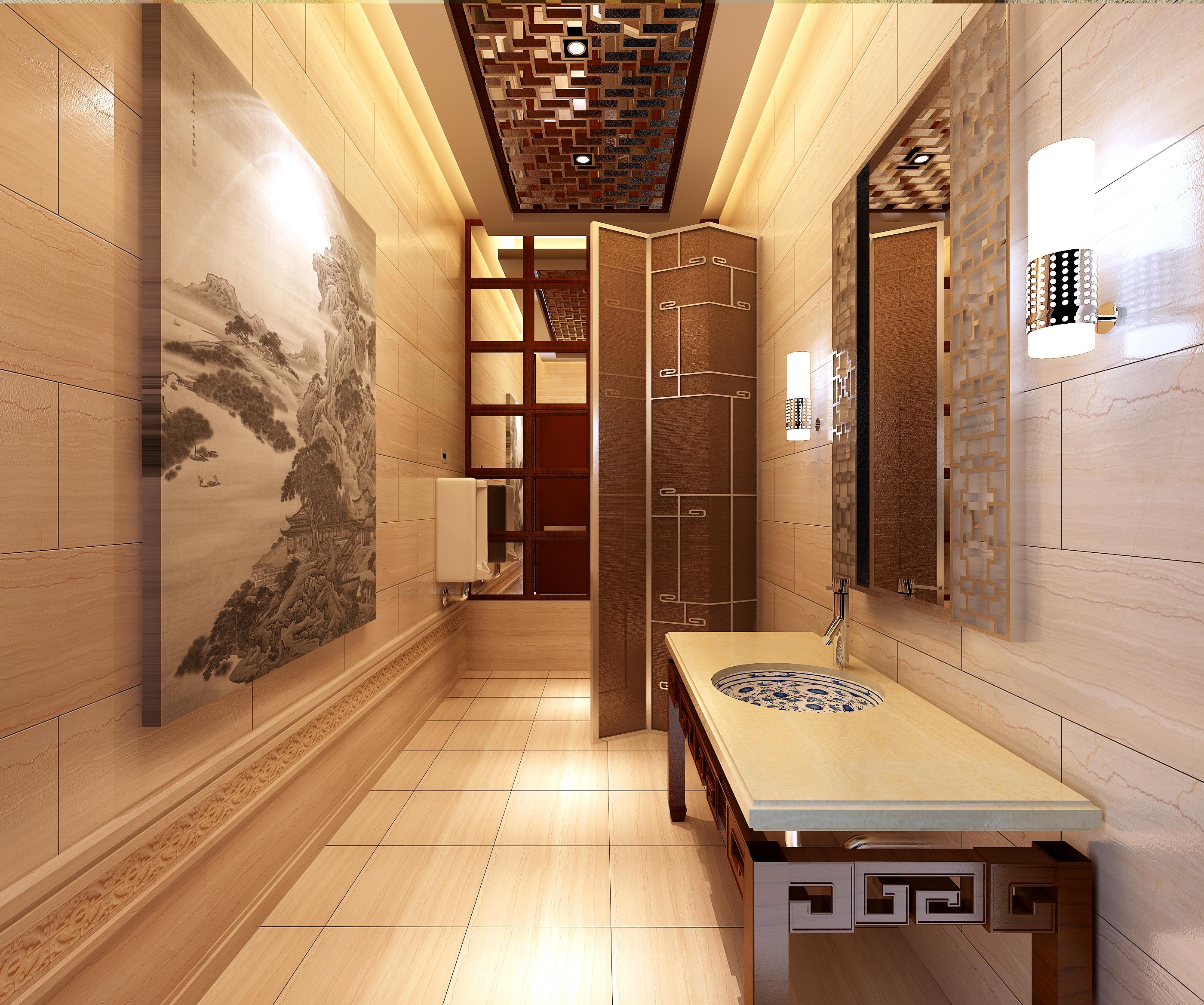 public toilet 024 3d model max 138152