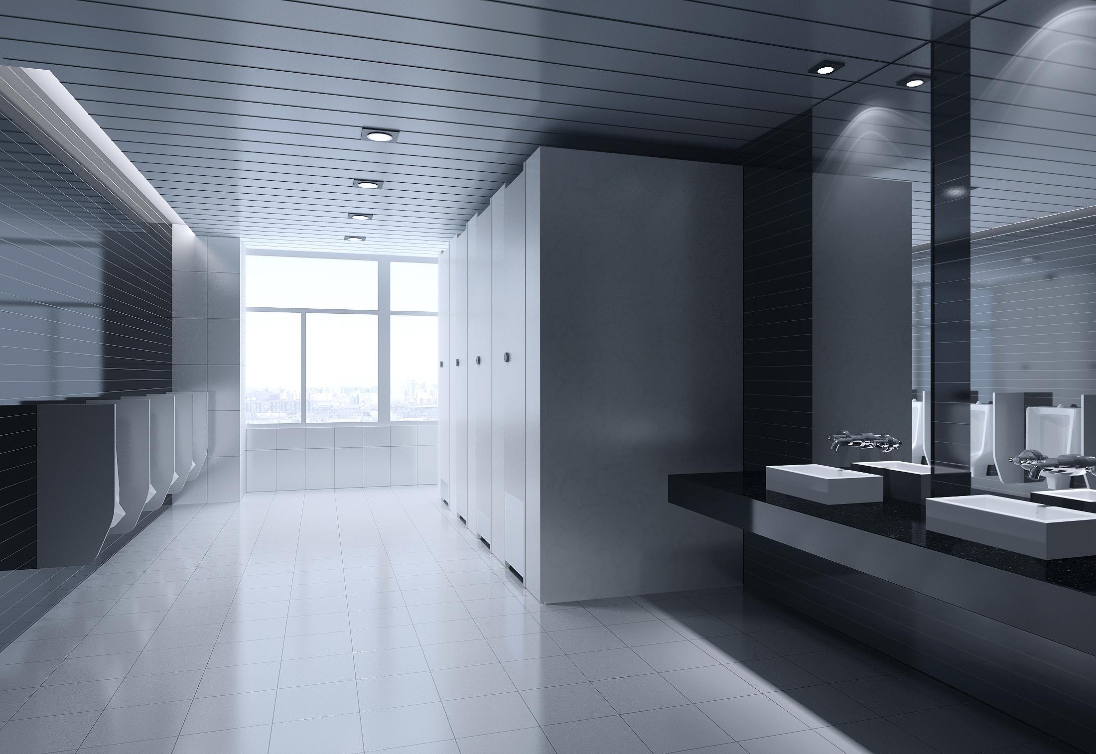 Public Toilet 005 - №2 3D Model - Buy Public Toilet 005 ... on Model Toilet Design  id=25407