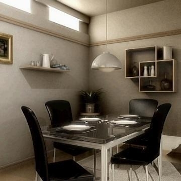 realistic extremely detailed kitchen 3d model 3ds max fbx obj 77207