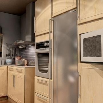 бодит маш дэлгэрэнгүй гал тогооны 3d загвар 3ds max fbx obj 77211