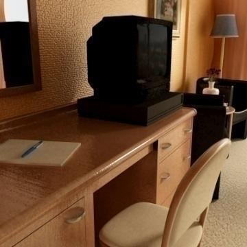 reāls ļoti detalizēts viesnīcas numurs 3d modelis 3ds max obj 77230