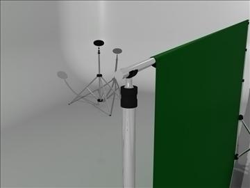 realistic studio stand 3d model 3ds max fbx obj 93579
