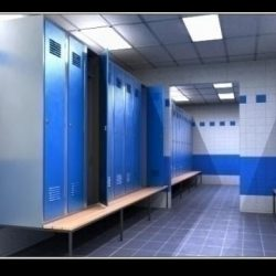 Realistic highly detailed locker room. ( 57.08KB jpg by mr._kim )