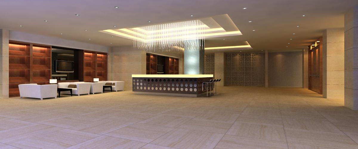 reception space 001 3d model max 145010