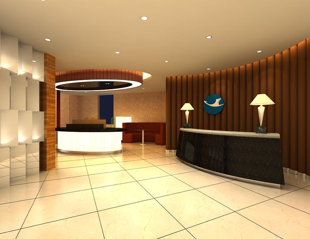 reception space 003 3d model max 145059