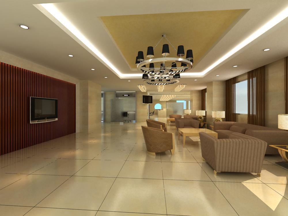 reception space 005 3d model max 145069