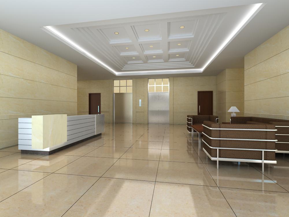 reception space 006 3d model max 145071