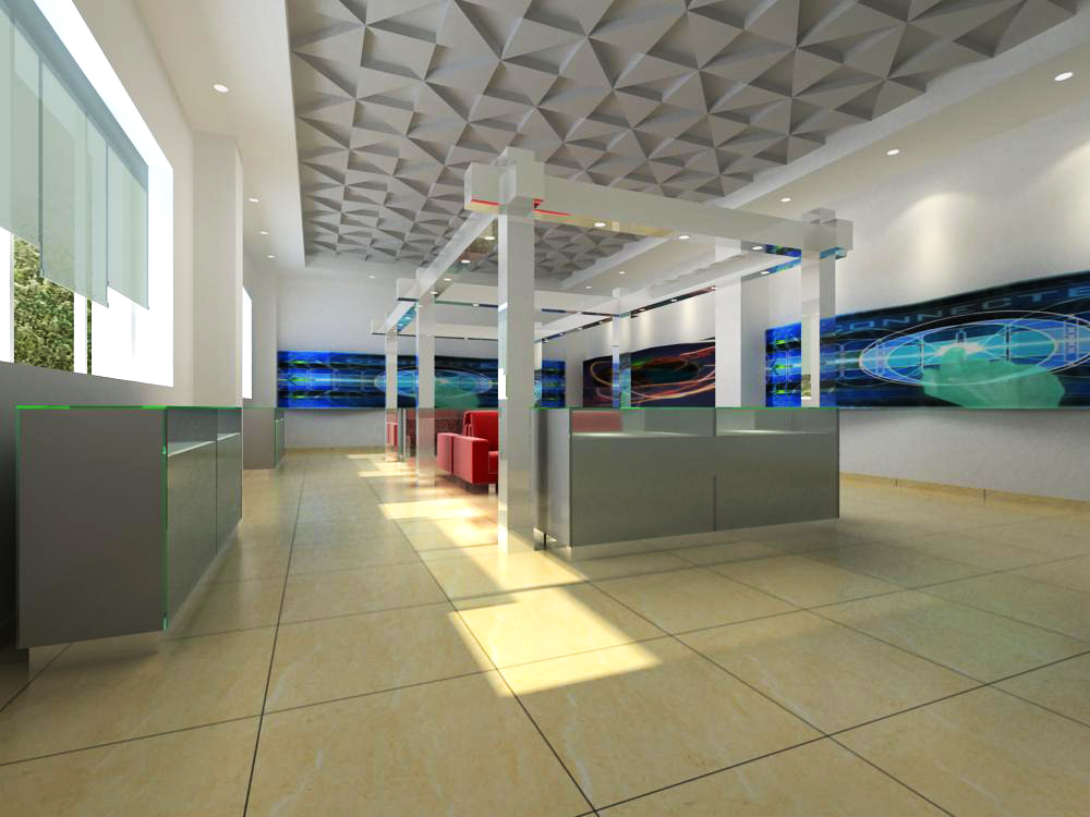 reception space 007-2 3d model max 145157