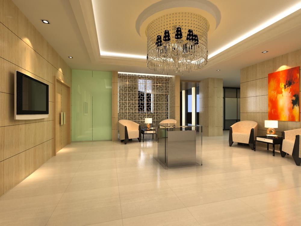 reception space 009 3d model max 145161