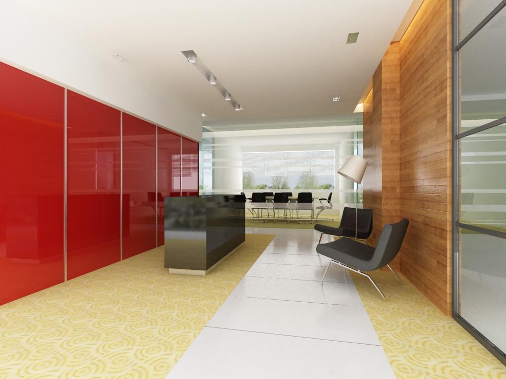 reception space 014 3d model max 145173