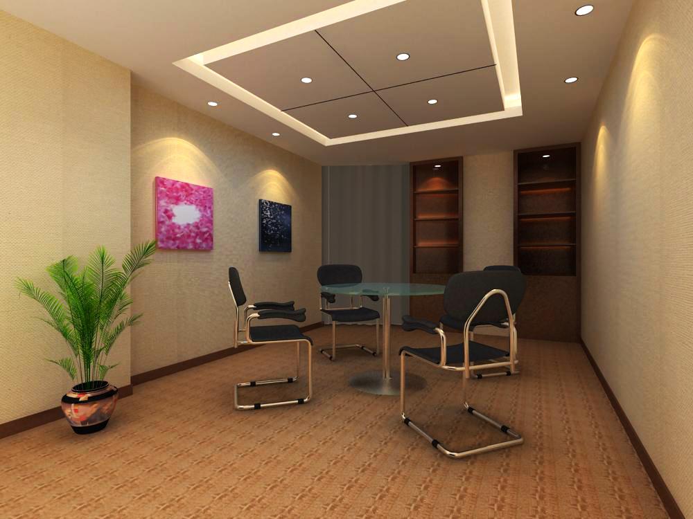 reception space 016 3d model max 145177