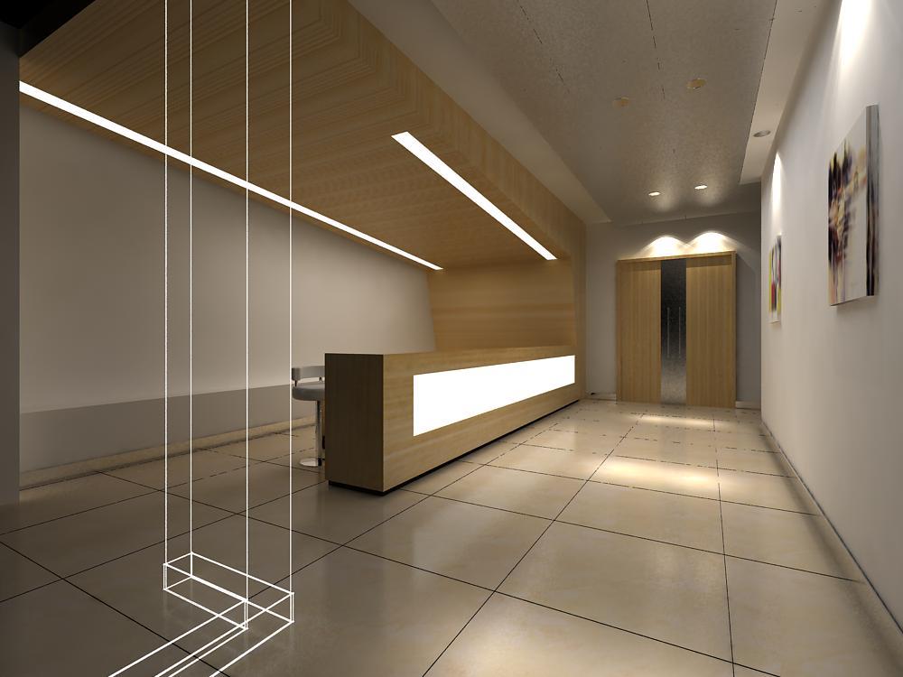 reception space 018 3d model max 145181