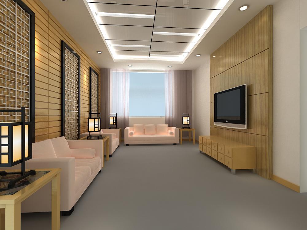 reception space 019 3d model max 145183