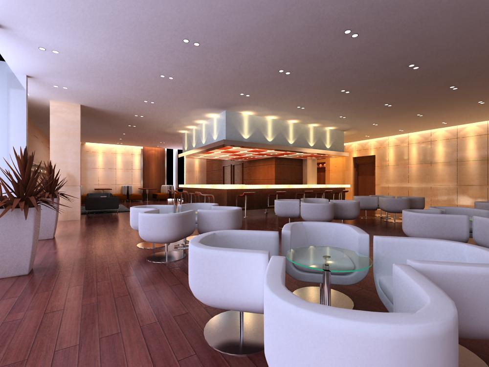 reception space 020 3d model max 145185