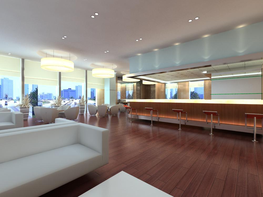 reception space 021 3d model max 145187
