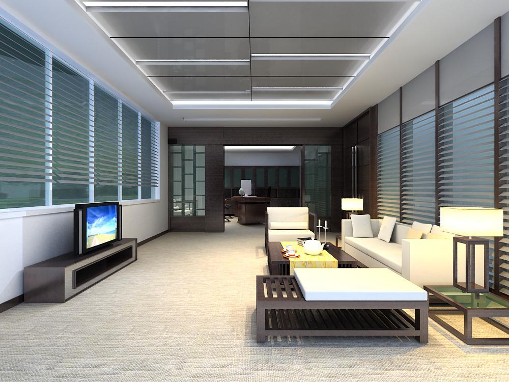 reception space 022 3d model max 145189
