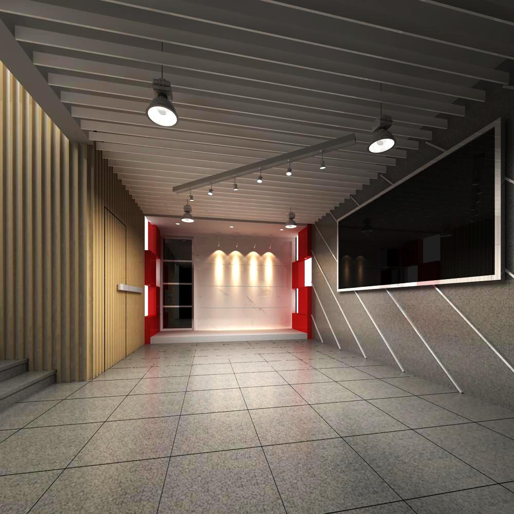 reception space 023 3d model max 145191