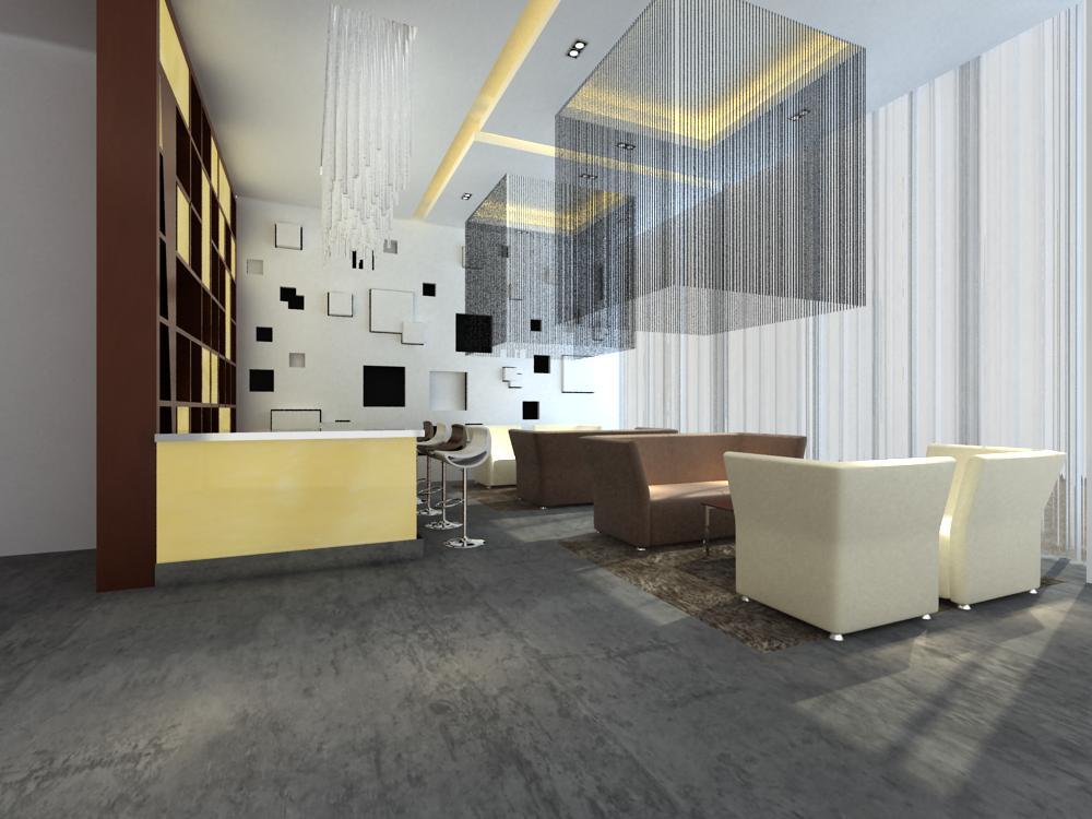 reception space 024 3d model max 145193