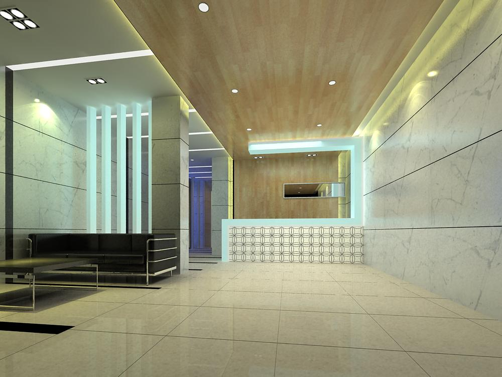 reception space 025 3d model max 145195
