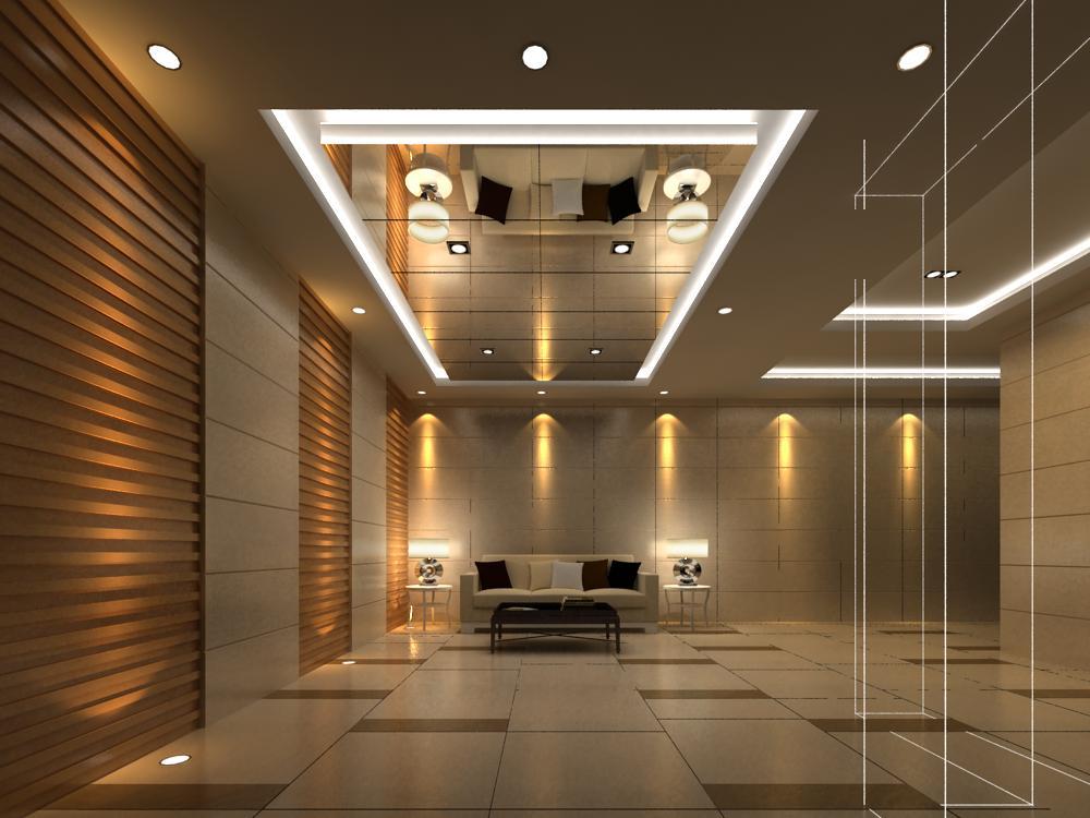 reception space 027 3d model max 145199