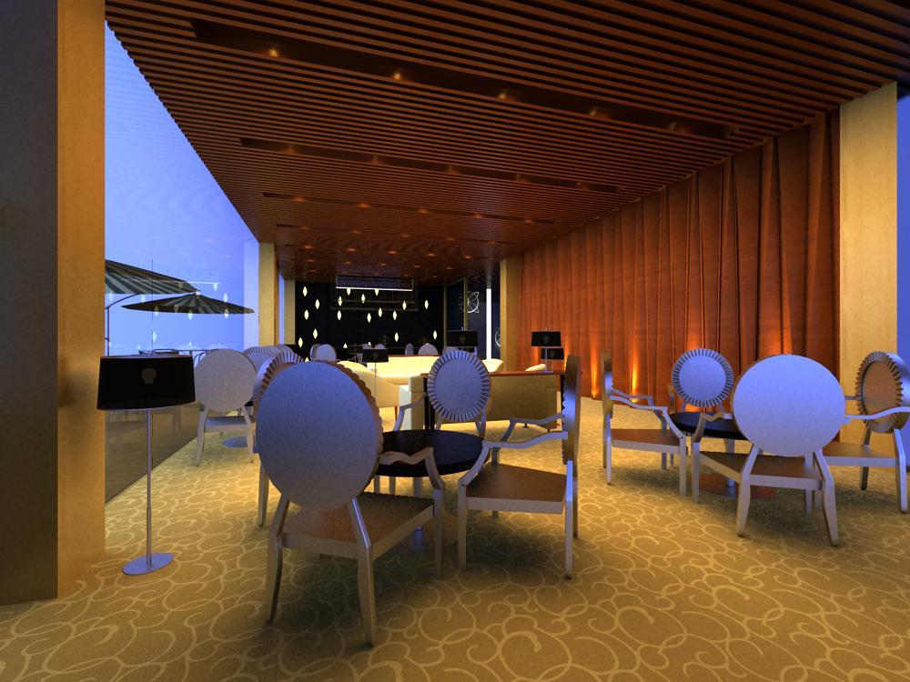 reception space 029 3d model max 145203