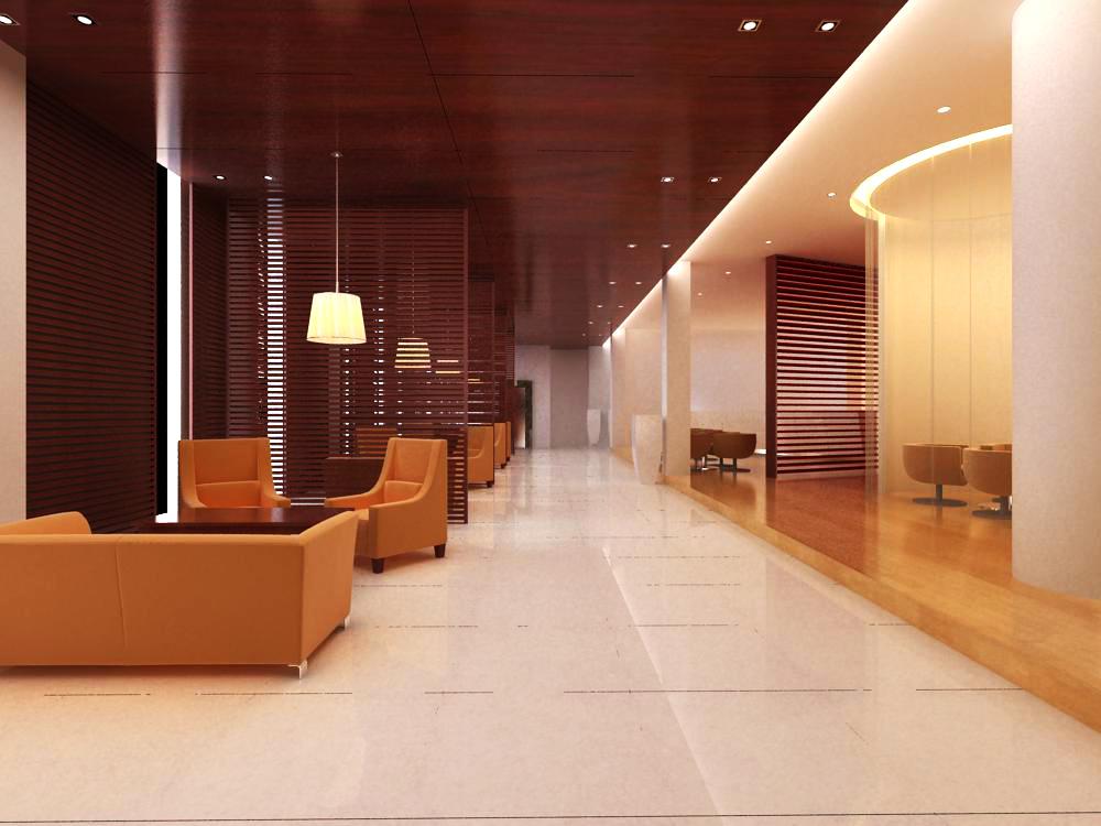 reception space 030 3d model max 145205